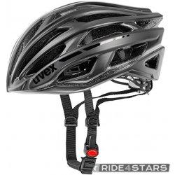 Přilba, helma, kokoska Uvex RACE 5 BLACK MATT SHINY 2014