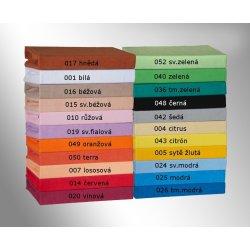 Brotex prostěradlo froté černé 160x200