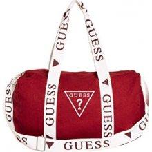 229ec5b5a9 Guess dámská sportovní taška Factory Women`s Logo Duffle Bag Red