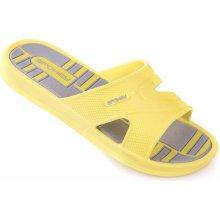 ed816ce1eaf7 Dámské pantofle Spokey INTRO žlutá