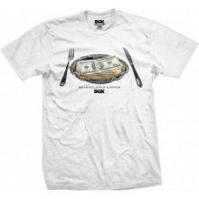 DGK MEAL TIME white/bílé tričko