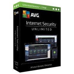 AVG Internet Security Ultimate - neomezený počet zařízení 2 roky elektronická (GSREN24EXXA000)