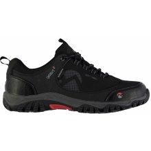 Gelert Softshell Mens Walking Shoes Black