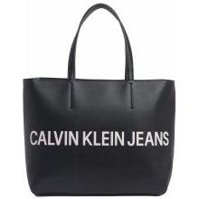 Calvin Klein kabelka EW Tote Black černá f6843c62451