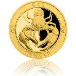 Česká mincovna Zlatý dukát Znamení zvěrokruhu Rak 3,49 g