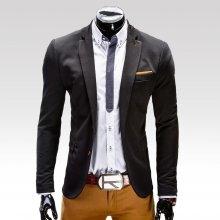 Ombre Clothing pánské sako Filippo černé