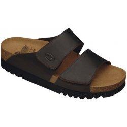 Scholl AALIM tmavě hnědé zdravotní pantofle od 1 697 Kč - Heureka.cz 7bc0f7d082