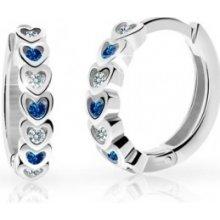 Náušnice Cutie Jewellery Cutie C3340 Dark Blue