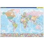 Svět nástěnná politická mapa Mapa nástěnná