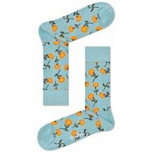 024e5751bee Happy Socks Červené ponožky se žlutými slunečnicemi