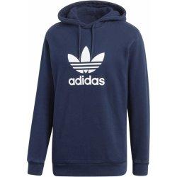 Adidas Originals Mikina s kapucí TREFOIL HOODY námořická modrá pánská mikina 9aa6b79e5a