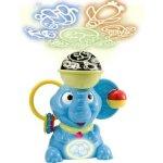 LEXIBOOK Infant NLJ100 Interactive nightlight lullbaby and projector elephant