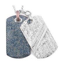 Diesel Pánský náhrdelník z chirurgické oceli DX0917 c0dc60995b7