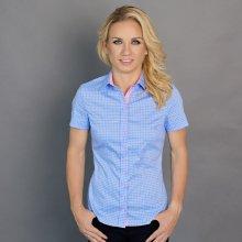 Wilsoor dámská košile v modré barvě