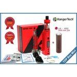 KangerTech Elektronický box mod TopBox Mini 75W TC + 1x LG HG2 3000mAh červená