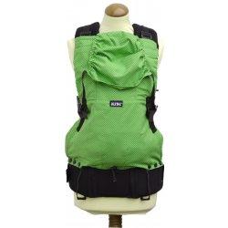 Dětská sedačka Nosítko KiBi zelený puntík