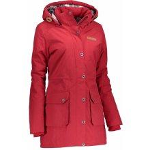 Alpine Pro Edite 2 dámský kabát tm.červená