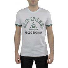 Le Coq Sportif ASSE Fanwear Tee SS n°1 Bílá