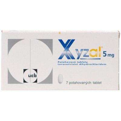 Xyzal por.tbl.flm. 7 x 5 mg