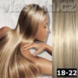 EXTRA HUSTÁ clip in sada - světle hnědá blond popelavá ( 18-22) 38 ... a1f85974948