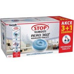 CERESIT Stop vlhkosti Aero 360 náhradní tablety 4x450g jarní vůně