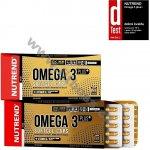 NUTREND Omega 3 Plus Softgel 120 kapslí