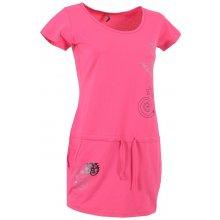 Altisport Dámské šaty PARMA ALLS16087 RŮŽOVé