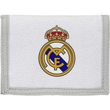 EUROSWAN Peněženka FC Real Madrid bílá