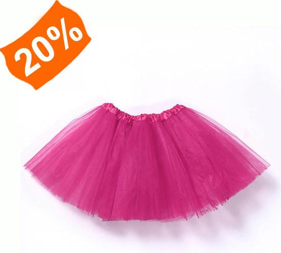 cb474e9d7098 Tylová sukně dětská   Tutu sukně tmavě růžová alternativy - Heureka.cz