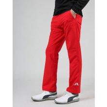J.Lindeberg kalhoty JL Tour Reg Micro Stretch červené