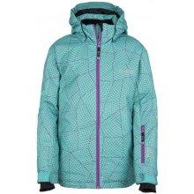 Kilpi dívčí lyžařská bunda Genovesa-Jg FJ0016KITRQ tyrkysová