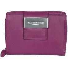 kvalitní kožená peněženka růžová