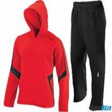 souprava chlapecká Wilson WRA2224 junior Knit warm up černo červená