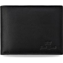 Klasická kožená pánská peněženka paul rossi horizontální černá 1edcaf5483
