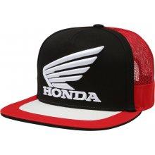 Fox Honda Snapback Hat Pánská čepice Black Red 0bc77d184c