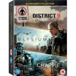 Chappie/District 9/Elysium DVD