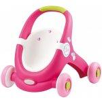 Smoby Minikiss Baby Walker 2v1 světle růžový
