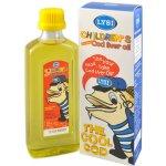 Lýsi Island Olej s tresčích jater pro děti citronová 240 ml