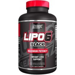 Nutrex Lipo-6 black 120 tablet