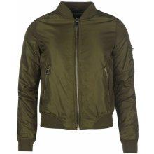 Bomber Golddigga MA1 Jacket dámské zelená