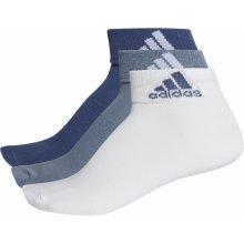 Adidas ponožky Performance Per Ankle T 3pp Tmavě modrá   Bílá b89d72b801
