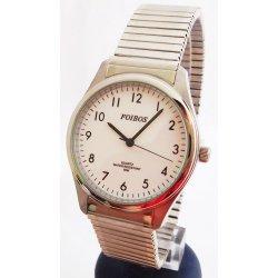 Foibos 7285.2. Pánské stříbrné ocelové hodinky ... 5524f5c2b9d