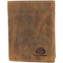 Greenburry Kožená peněženka mini 1813 25 hnědá
