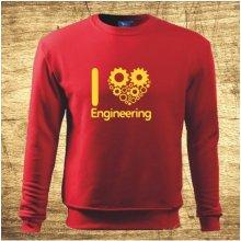 I love engineering Červená