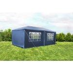 Zahradní párty stan 3 x 6 m, modrý OEM D01612