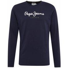 Pepe Jeans Tričko  EGGO LONG  tmavě modrá   bílá 5efe423745