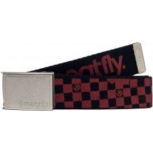 Meatfly Pásek Eclipse 17 Belt C - Cranberry