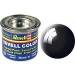 Revell emailová 32107: leská černá black gloss