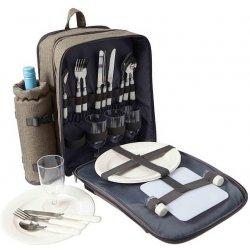 Rekl Piknikový batoh OSCAR pro 4 osoby šedohnědý alternativy ... 8a113940c8