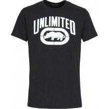 Ecko Unltd Double Quick T Shirt Mens Black